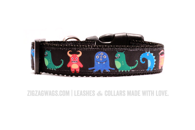 Marvelous Monster Dog Collar from ZigZag Wags