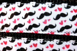 Mr. Moustache pattern detail