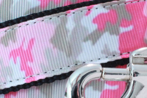 Pink Camouflage Dog Leash Pattern