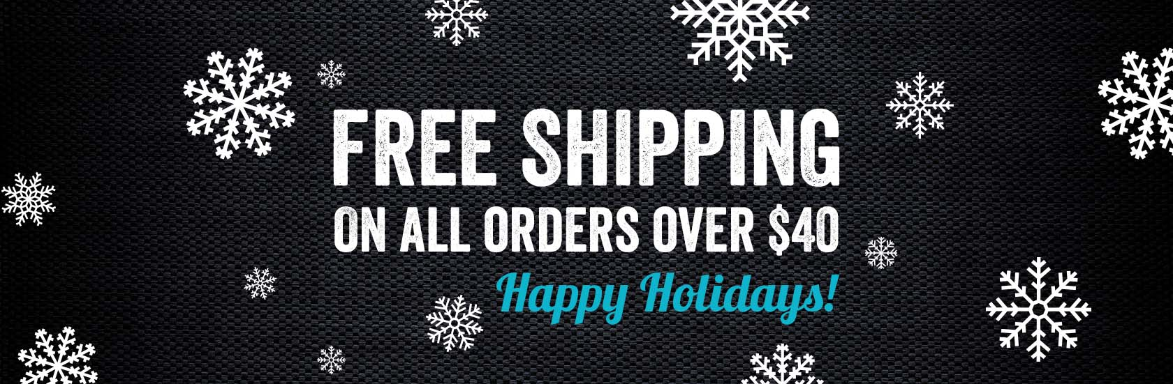 Free Holiday Shipping